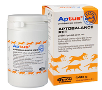 APTUS® APTOBALANCE PET prášek 140g ORION Pharma Animal Health