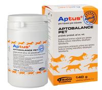 APTUS® APTOBALANCE PET prášek 140g ORION Pharma Animal Health