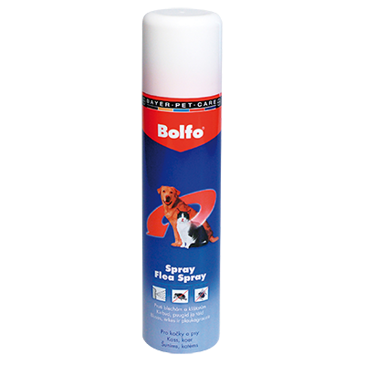 Bolfo sprej 250ml BAYER Animal Health
