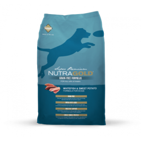 Nutra Gold Grain Free Whitefish & Sweet Potato