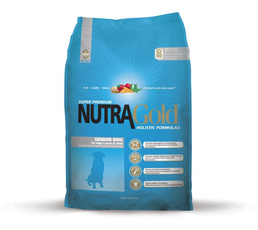 Nutra Gold Holistic Senior Dog Diamond Petfood USA