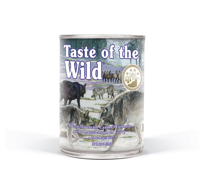 TASTE OF THE WILD Sierra Mnt. konzerva 375g Taste of the Wild Petfood