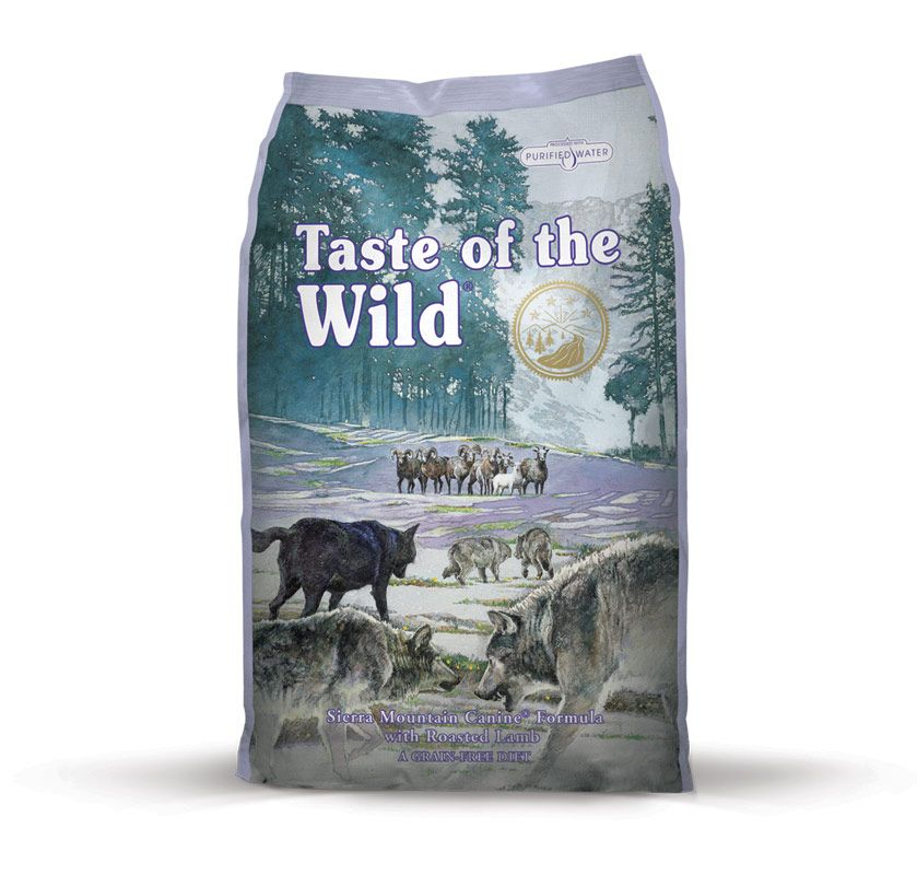 TASTE OF THE WILD Sierra Mountain Canine Taste of the Wild Petfood