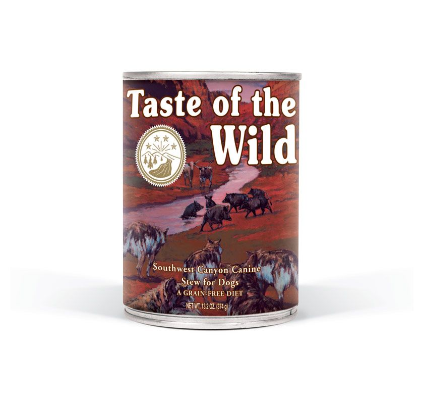 TASTE OF THE WILD Southwest Canyon konzerva 375g Taste of the Wild Petfood