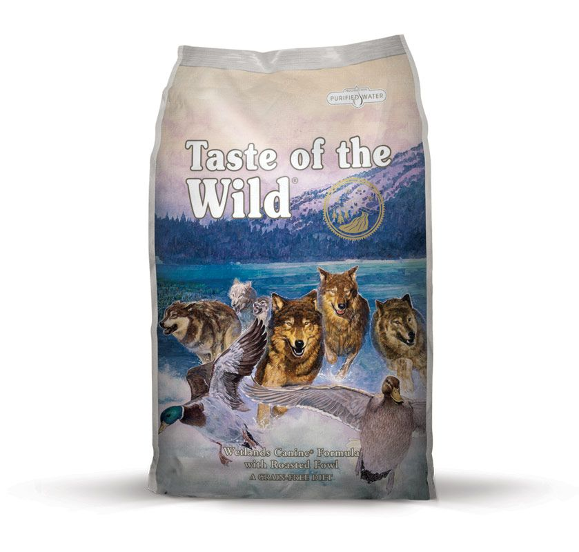TASTE OF THE WILD Wetlands Wild Fowl Taste of the Wild Petfood