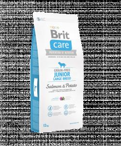 Brit Care Grain-free Junior Large Breed Salmon & Potato VAFO PRAHA s.r.o.