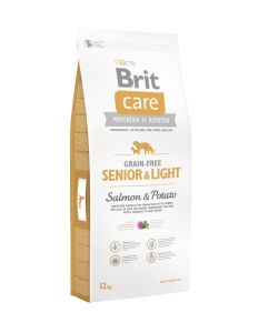 Brit Care Grain-free Senior&Light Salmon & Potato VAFO PRAHA s.r.o.