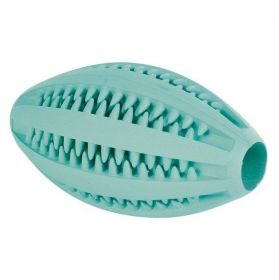 DENTAfun RUGBY míč s mátou 11cm TRIXIE