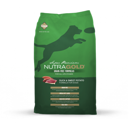 Nutra Gold Grain Free Duck & Sweet Potato Diamond Petfood USA