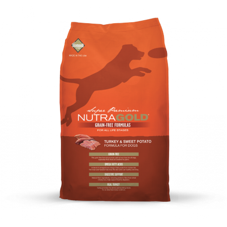Nutra Gold Grain Free Turkey & Sweet Potato Diamond Petfood USA
