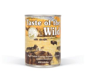 TASTE OF THE WILD High Prairie konzerva 375g