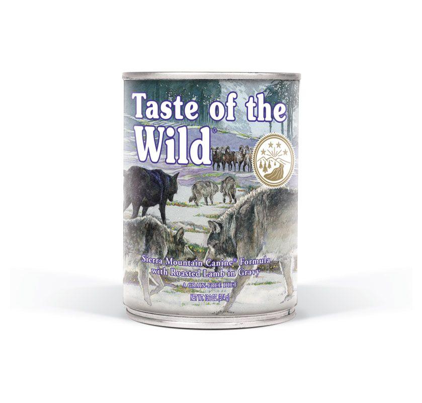TASTE OF THE WILD Sierra Mnt. konzerva 375g Taste of the Wild Petfood