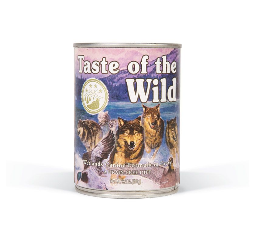 TASTE OF THE WILD Wetlands konzerva 375g Taste of the Wild Petfood